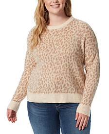 Trendy Plus Size Kenna Printed Sweater