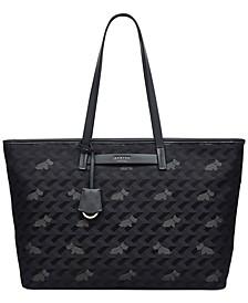 Large Zip Top Shoulder Bag