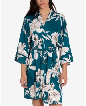 Blaise Printed Wrap Robe