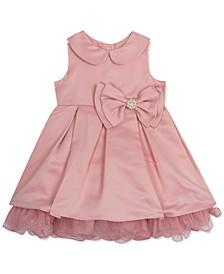 Baby Girls Mesh Ruffle Dress