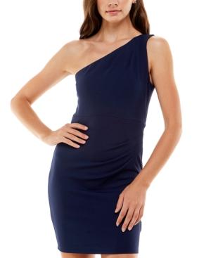 Juniors' One-Shoulder Dress