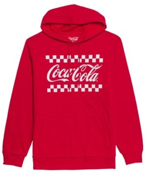 Men's Classic Coke Hooded Fleece Sweatshirt