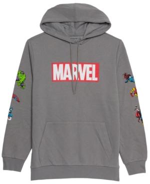Men's Marvel Super Hero Hooded Fleece Sweatshirt