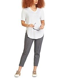 Rounded-Hem T-Shirt, in Reg & Petites