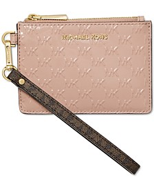 Signature Jet Set Small Leather Coin Purse