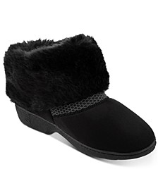 Women's Memory Foam Microsuede Mallory Boot ECO Comfort Slippers