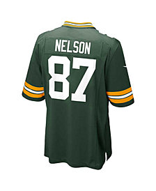 Nike Men's Jordy Nelson Green Bay Packers Game Jersey