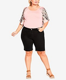 Plus Size Camille Stretch Shorts