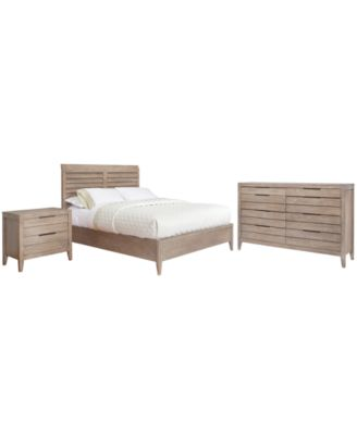 Kips Bay 3 Piece Set, Created For Macyu0027s, (Queen Bed, Nightstand