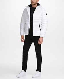 Men's Sherpa Lined Midweight Puffer with Hood