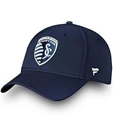Men's Navy Sporting Kansas City Elevated Speed Flex Hat