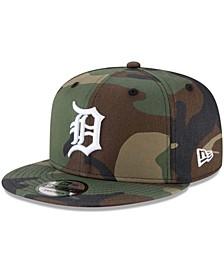 Men's Camo Detroit Tigers Basic 9FIFTY Snapback Hat