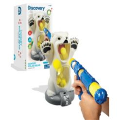 Discovery Kids Hungry Polar Bear Feeding Game
