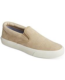 Men's Striper Perforated Deck Sneakers