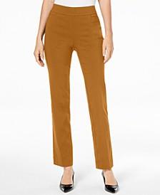 Pull-On Tummy Control Slim-Leg Pants, Created for Macy's