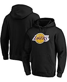 Men's Black Los Angeles Lakers Primary Team Logo Pullover Hoodie