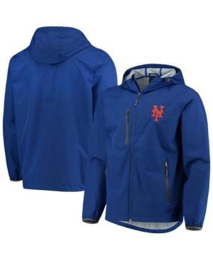 Men's Royal New York Mets Double Play Lightweight Hoodie Jacket
