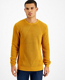 Men's Ribbed Sweater, Created for Macy's