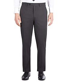 Men's Classic-Fit Dark Gray Check Suit Separate Pants
