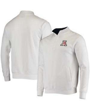 Men's White Arizona Wildcats Tortugas Logo Quarter-Zip Jacket