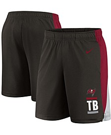 Youth Boys Pewter Tampa Bay Buccaneers Shorts