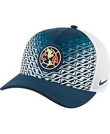 Men's Navy Club America Classic99 Trucker Performance Snapback Hat