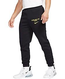 Men's Black Chelsea Fleece Pants