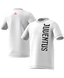 Youth Big Boys White Juventus T-Shirt