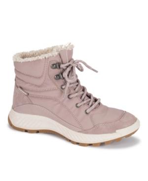 Maine Waterproof Faux Shearling Hiking Boots Women's Shoes