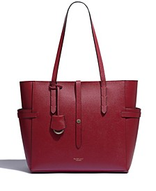 Women's Large Zip Top Shoulder Handbag
