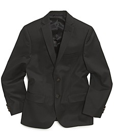 Big Boys Husky Solid Suit Jacket