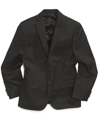 Lauren Ralph Lauren Solid Black Suit Jacket, Big Boys (8-20 ...
