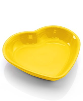 Sunflower Medium Heart Bowl