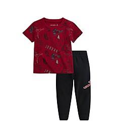 Baby Boy T-Shirt and Pants 2 Piece Set