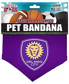 Purple Orlando City SC Pet Bandana