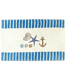 """Avanti Bath Accessories, Antigua 20"""" x 30"""" Bath Rug"""