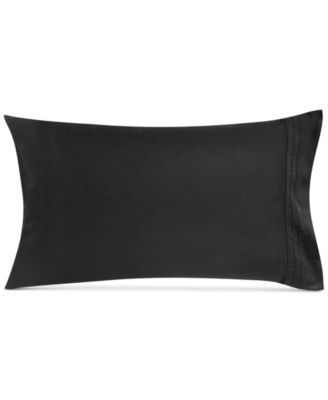 CLOSEOUT!  Home Pair of Ebony Standard Pillowcases