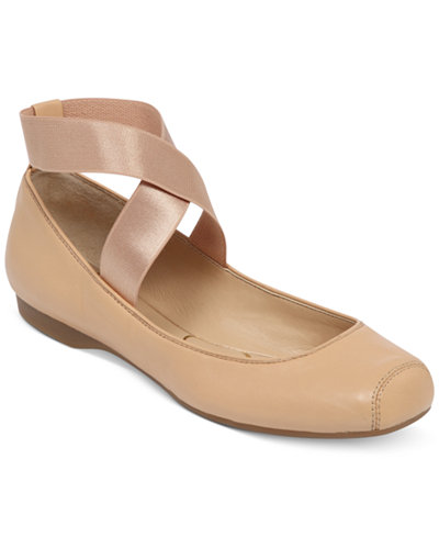 Jessica Simpson Mandalaye Elastic Ballet Flats Flats