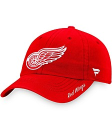 Women's Red Detroit Red Wings Core Primary Logo Adjustable Hat