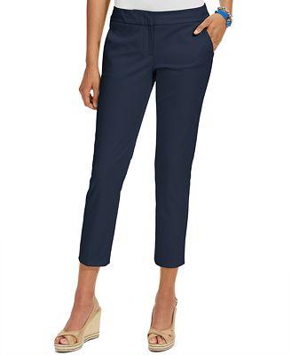 Tommy Hilfiger Capri Pant - Pants - Women - Macy's