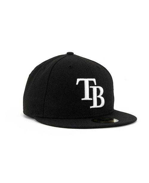 cheap for discount bc0cc 16d8e ... New Era Tampa Bay Rays MLB B-Dub 59FIFTY Cap ...