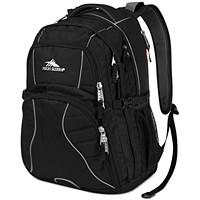 High Sierra Men's Swerve Backpack (Black)
