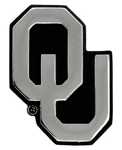 Stockdale Oklahoma Sooners Auto Sticker