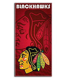 Northwest Company Chicago Blackhawks Emblem Beach Towel