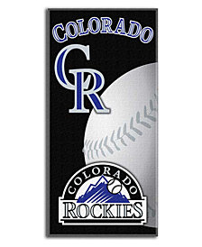 Northwest Company Colorado Rockies Emblem Beach Towel