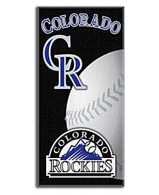 Northwest Company Colorado Rockies Emblem Beach Towel