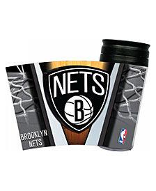 Hunter Manufacturing Brooklyn Nets 16 oz. Travel Tumbler