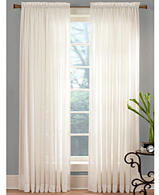 "Miller Curtains Sheer Angelica Voile 59"" x 95"" Panel"