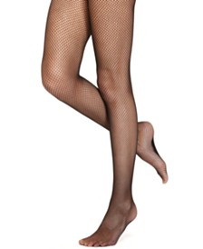 DKNY Women's  Softest Fishnet Tights