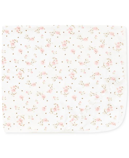 Little Me Baby Girls Vintage Rose Blanket - All Kids  Accessories ... e63176941cce